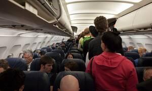Θρίλερ στον αέρα για 107 επιβάτες - Συναγερμός στις αρχές