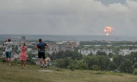 Ρωσία: Νέες εκρήξεις σε αποθήκες πυρομαχικών - Πέντε οι τραυματίες
