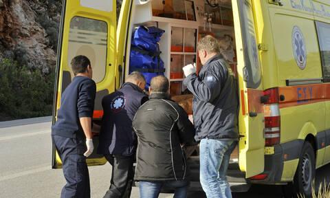 Τροχαίο στην Κρήτη: Οδηγός ΙΧ έχασε τον έλεγχο και έπεσε σε τοίχο
