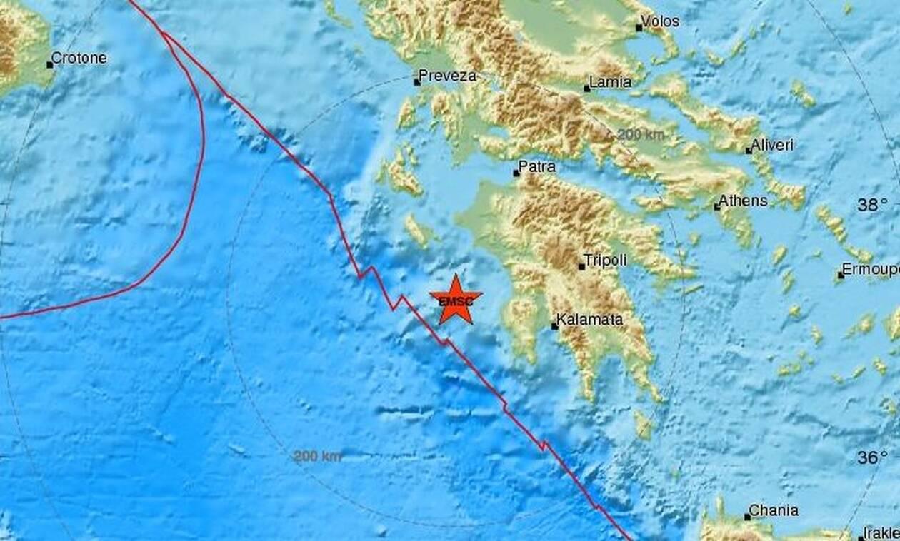 Σεισμός δυτικά της Κυπαρισσίας - Αισθητός σε πολλές περιοχές (pics)