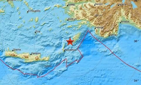 Σεισμός μεταξύ Ρόδου και Καρπάθου (pics)