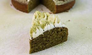 Η γλυκιά συνταγή για σήμερα είναι το... Κέικ με matcha