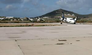 Νάξος: Ο επισκέπτης που «εισέβαλε» στο αεροδρόμιο και προκάλεσε πανικό (pics)