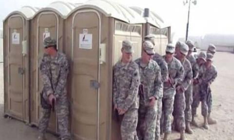 Γιατί την τουαλέτα στο στρατό την ονομάζουν «Καλλιόπη»;