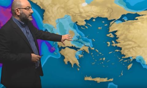 Καιρός: Το μετεώγραμμα του Αρναούτογλου για καιρό και θερμοκρασίες μέχρι 22 Αυγούστου (Video)