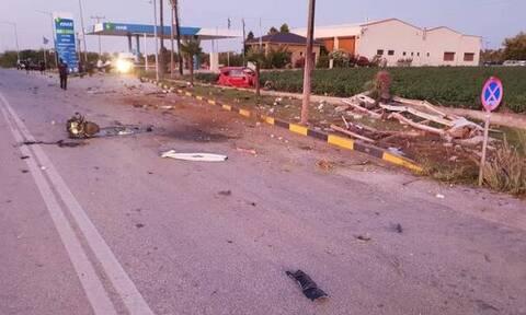 Τραγωδία στη Ροδόπη: Νεκρός 20χρονος - Καρφώθηκε σε κολώνα της ΔΕΗ (ΣΚΛΗΡΕΣ ΕΙΚΟΝΕΣ)