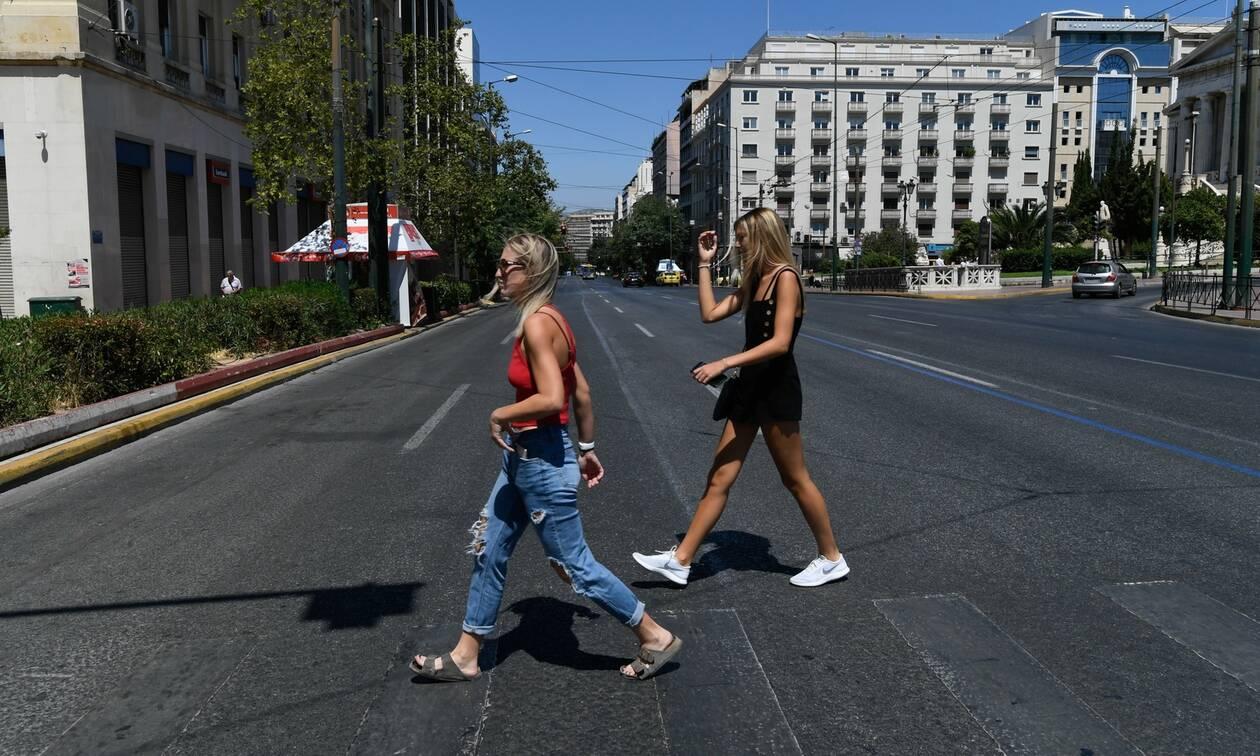 Έρημη πόλη η Αθήνα: Φεύγουν και οι τελευταίοι εκδρομείς του Δεκαπενταύγουστου