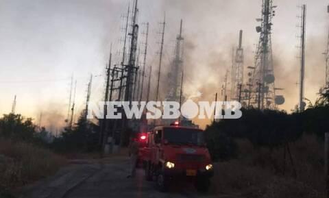 Φωτιά Υμηττός - Δήμαρχος Παιανίας: Ευτυχώς δεν θρηνήσαμε θύματα – Η φωτιά είναι υπό έλεγχο
