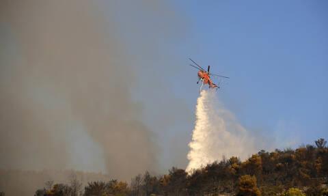 Φωτιά Υμηττός: Στην κορυφογραμμή εστιάζουν οι δυνάμεις - Αισιοδοξία από την πυροσβεστική