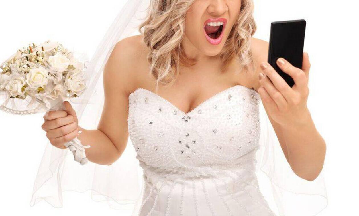Η νύφη τρελάθηκε και έγινε viral: Δεν φαντάζεστε τι έκανε στους καλεσμένους! (pics+vid)