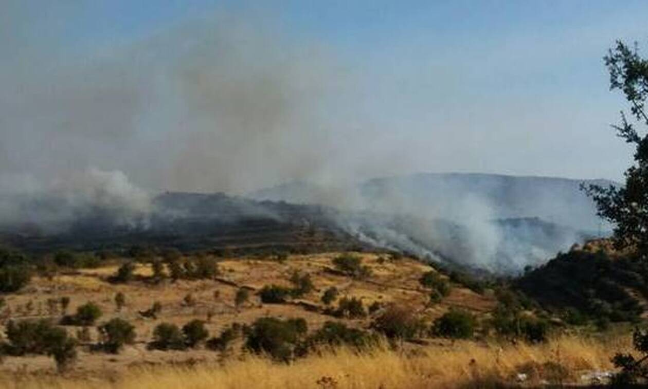 Κύπρος - Φωτιά: Εκκενώθηκε χωριό της Λεμεσού
