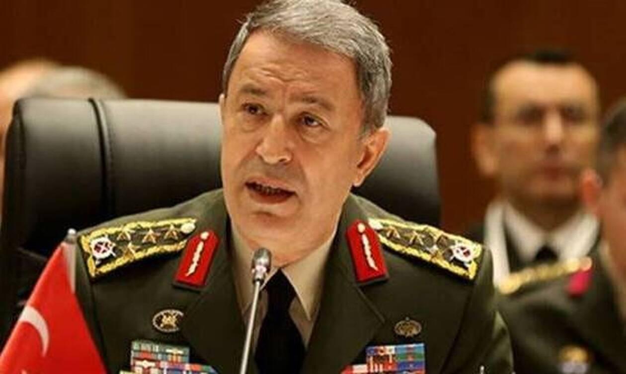 Για πρώτη φορά στο αρχηγείο των «δυνάμεων ασφαλείας» στα κατεχόμενα Τούρκος ΥΠΑΜ