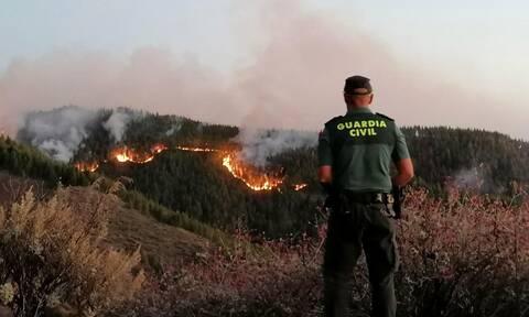 Φωτιά στο νησί Γκραν Κανάρια: Μάχη με τις φλόγες - Απομακρύνθηκαν 1.000 άνθρωποι