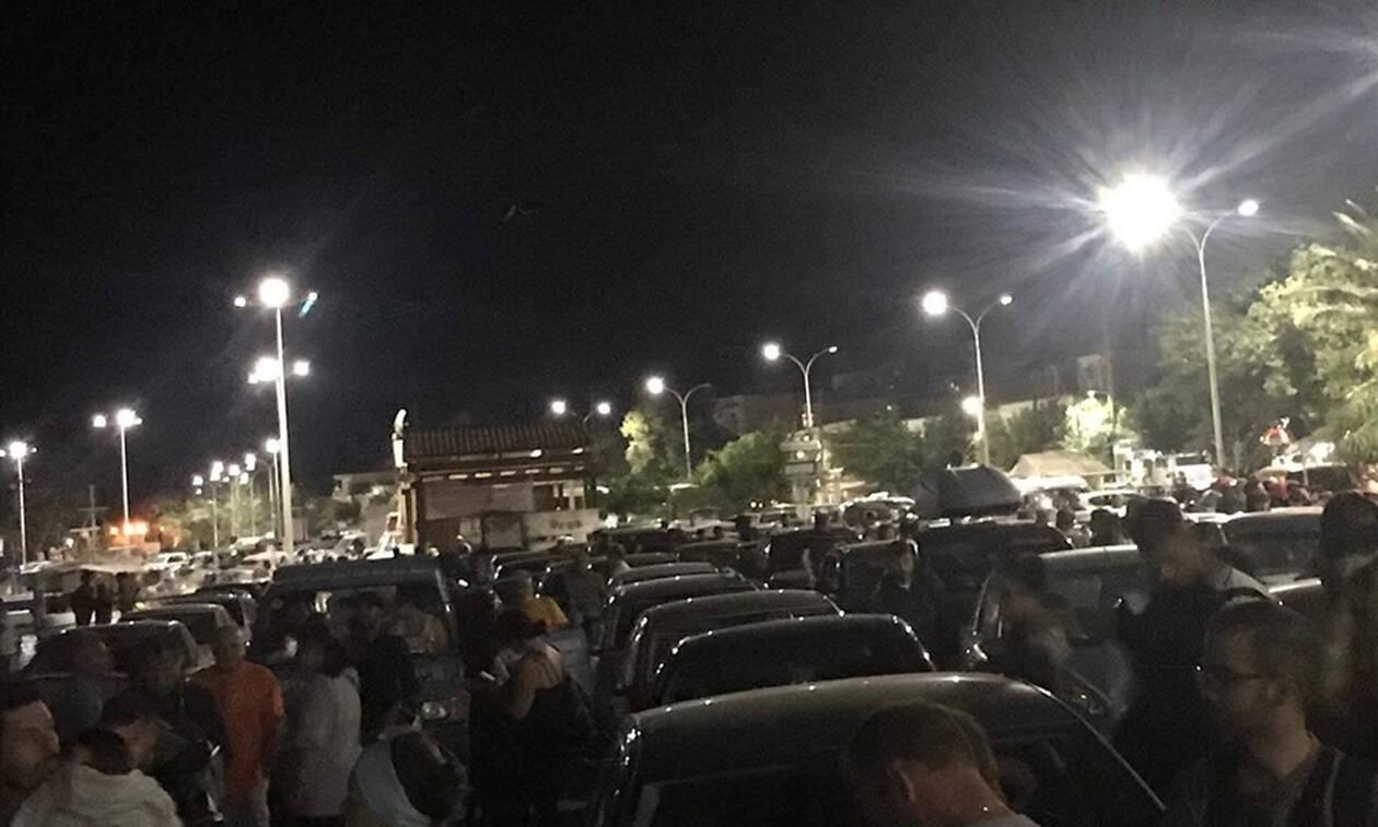 Κραυγή αγωνίας από εκατοντάδες εγκλωβισμένους στη Σαμοθράκη