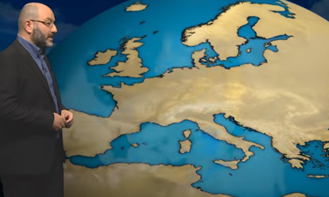 Καιρός: Η προειδοποίηση του Σάκη Αρναούτογλου για νέα ενίσχυση των ανέμων (Video)