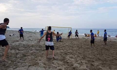 Τραγωδία στην Κρήτη: Νεκρός στην παραλία κατά την διάρκεια αγώνα ποδοσφαίρου