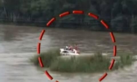 Έκαναν δώρο σε κακομαθημένο πλουσιόπαιδο αυτοκίνητο και το έριξε στο ποτάμι! (video)