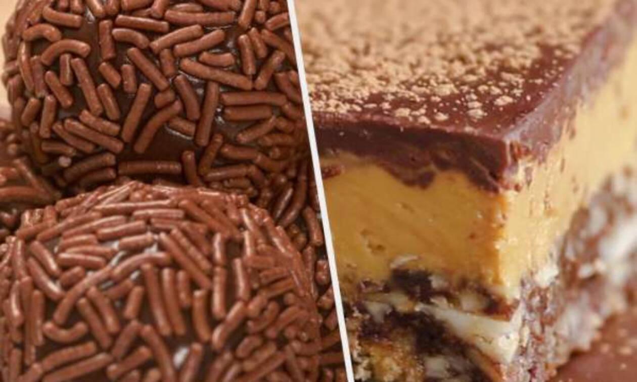 Επτά πανεύκολα γλυκά χωρίς ψήσιμο (vid)