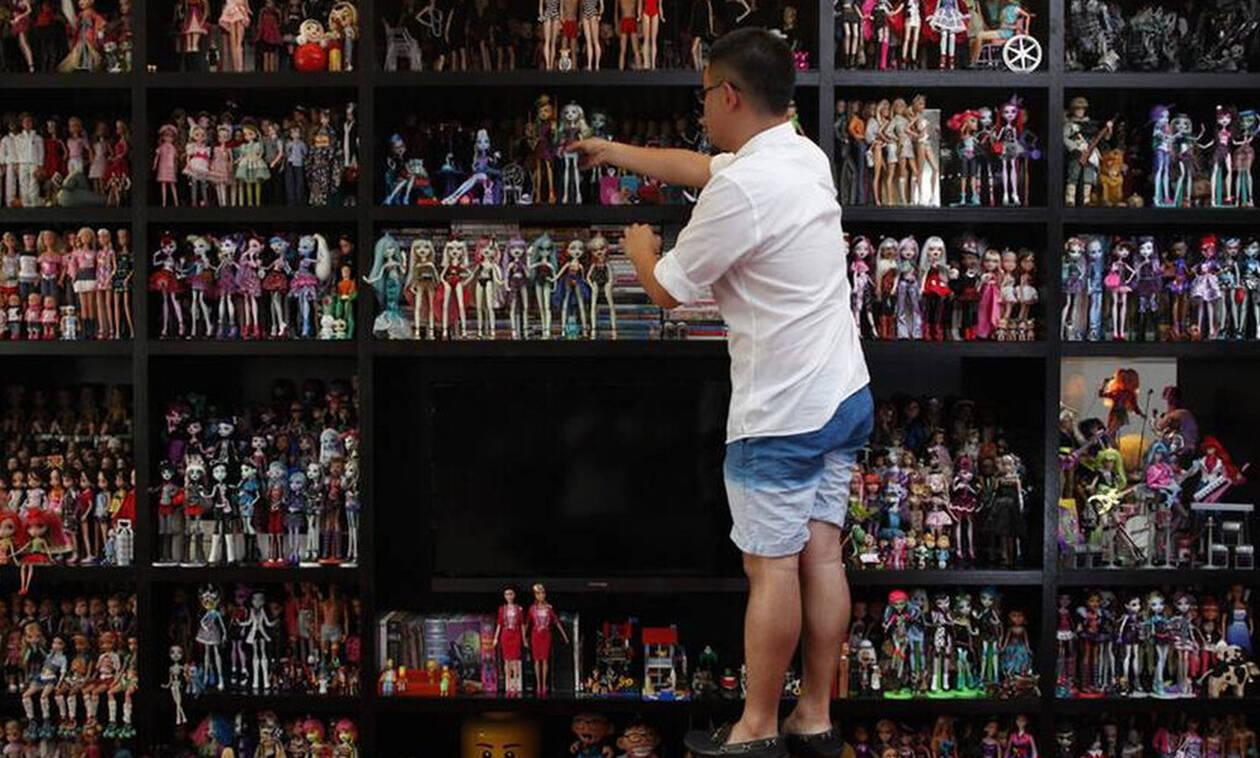 Αυτός ο τύπος έχει τις πιο «καμμένες» συλλογές στον κόσμο! (pics)