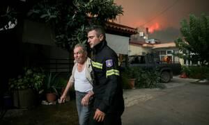 Φωτιά Εύβοια: Σε ασφαλές σημείο οι 300 κάτοικοι από Μακρυμάλλη και Κοντοδεσπότι
