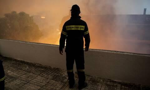 Φωτιά Εύβοια – Εκκενώνεται και το χωριό Πλατανιάς