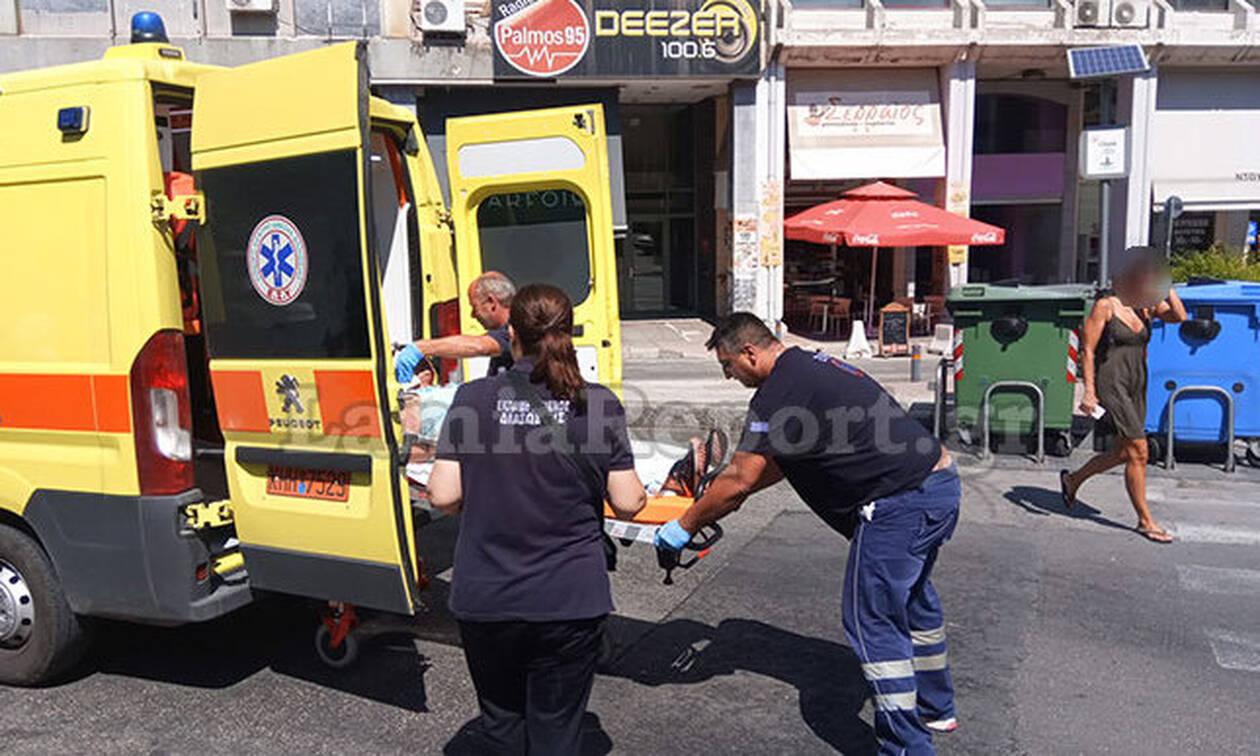 Σοκ στη Λαμία: Προσπάθησε να σφάξει τη γυναίκα του στην πλατεία (ΣΚΛΗΡΕΣ ΕΙΚΟΝΕΣ)