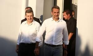 Φωτιά στην Εύβοια: Κυριάκος Μητσοτάκης - Σε απόλυτη κινητοποίηση ο κρατικός μηχανισμός