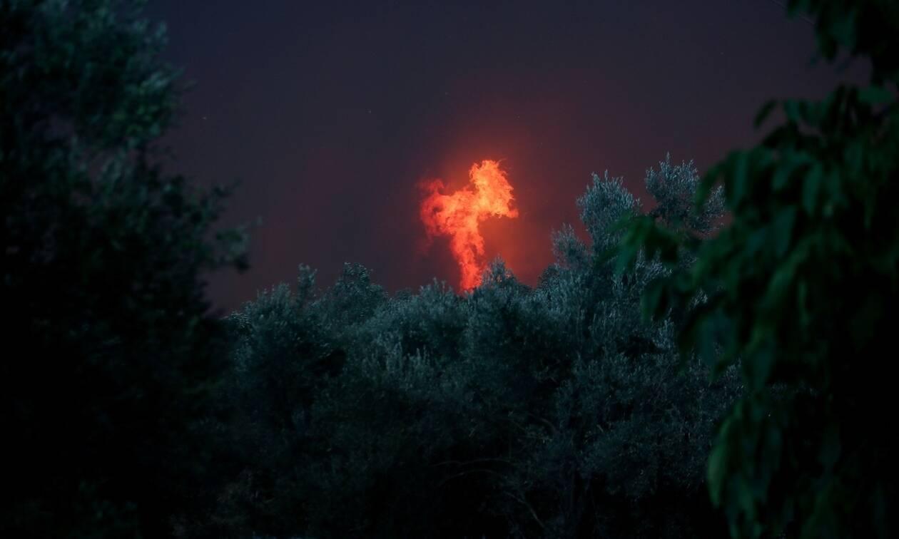 Φωτιά Εύβοια: 64χρονος αναζητείται από την αστυνομία για την πυρκαγιά στη βόρεια Εύβοια