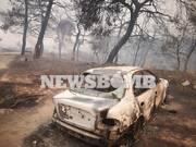 Φωτιά Εύβοια Ολονύχτια μάχη με τις φλόγες – Συνεχείς αναζωπυρώσεις – Στα 115 χλμ το πύρινο μέτωπο
