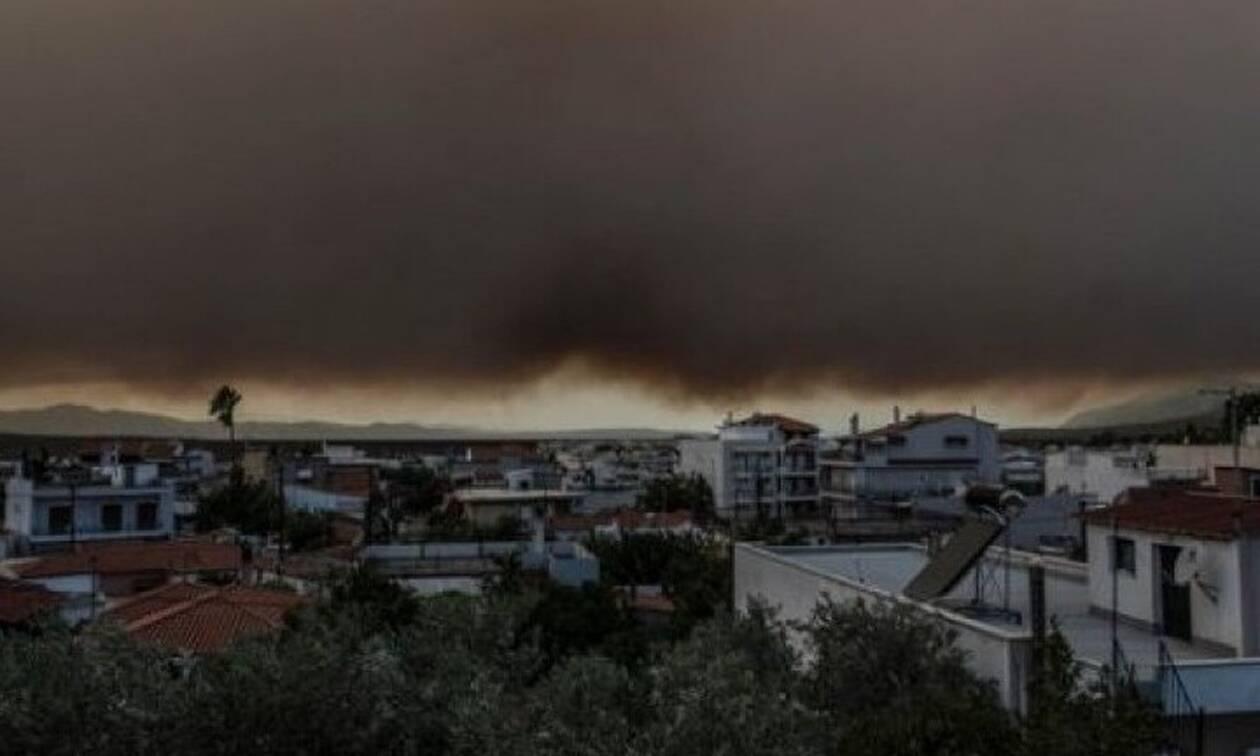 Кипр готов оказать помощь Греции в тушении пожаров на Эвбее