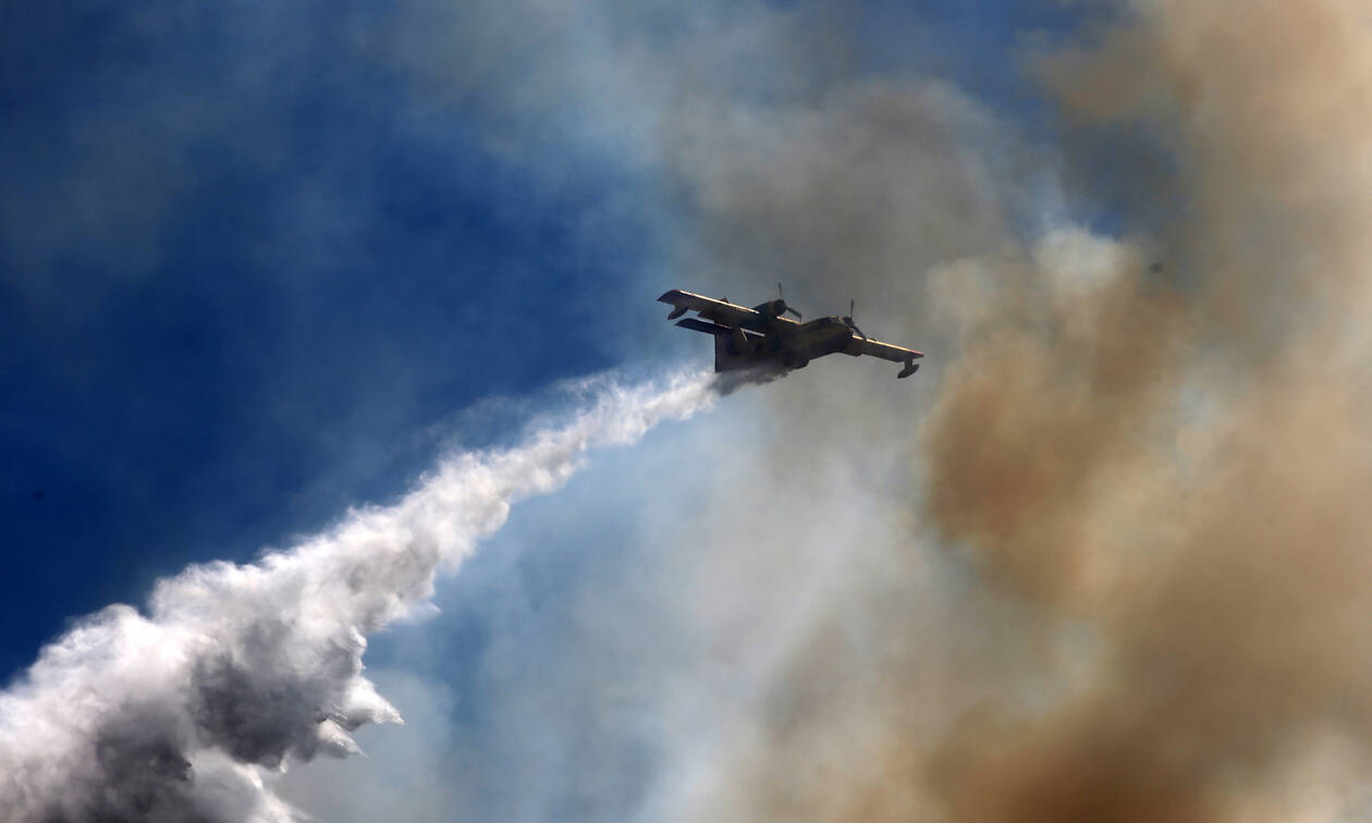 Φωτιά Εύβοια: Συνεχίζει να καίει η πύρινη λαίλαπα -Μεγάλη αναζωπύρωση μεταξύ Μακρυμάλλη και Πλατανιά