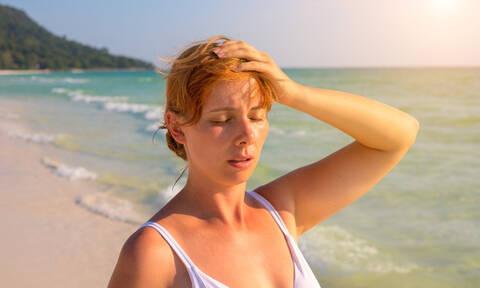 Θερμοπληξία: Συμπτώματα και τρόποι πρόληψης - αντιμετώπισης (εικόνες)
