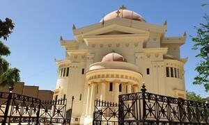 Στα άδυτα του Ι.Ν. των Αγ. Κωνσταντίνου & Ελένης στο Κάιρο