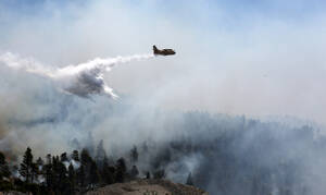 Φωτιά Εύβοια: Μάχη με τις φλόγες για τρίτη μέρα - Περιορισμένη σε χαράδρα η φωτιά