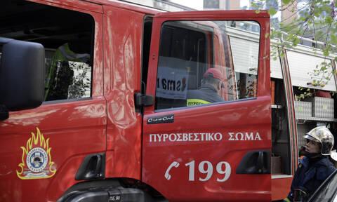 Λαμία: Σπίτι τυλίχτηκε στις φλόγες