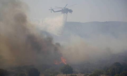 Η φωτογραφία από τη φωτιά στην Ελαφονήσο που συγκλονίζει τον πλανήτη (Pics)