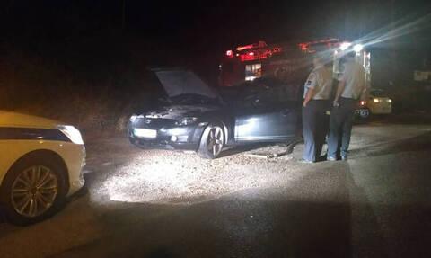 Κοζάνη: Αυτοκίνητο σε κίνηση πήρε φωτιά