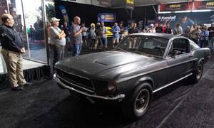 Πωλείται τo γνήσιο Ford Mustang GT της ταινίας Bullitt
