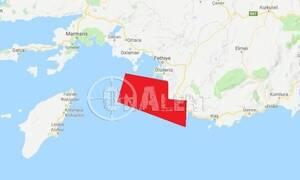 Νέα NAVTEX της Τουρκίας: Δεσμεύουν θαλάσσια περιοχή ανοιχτά της Ρόδου