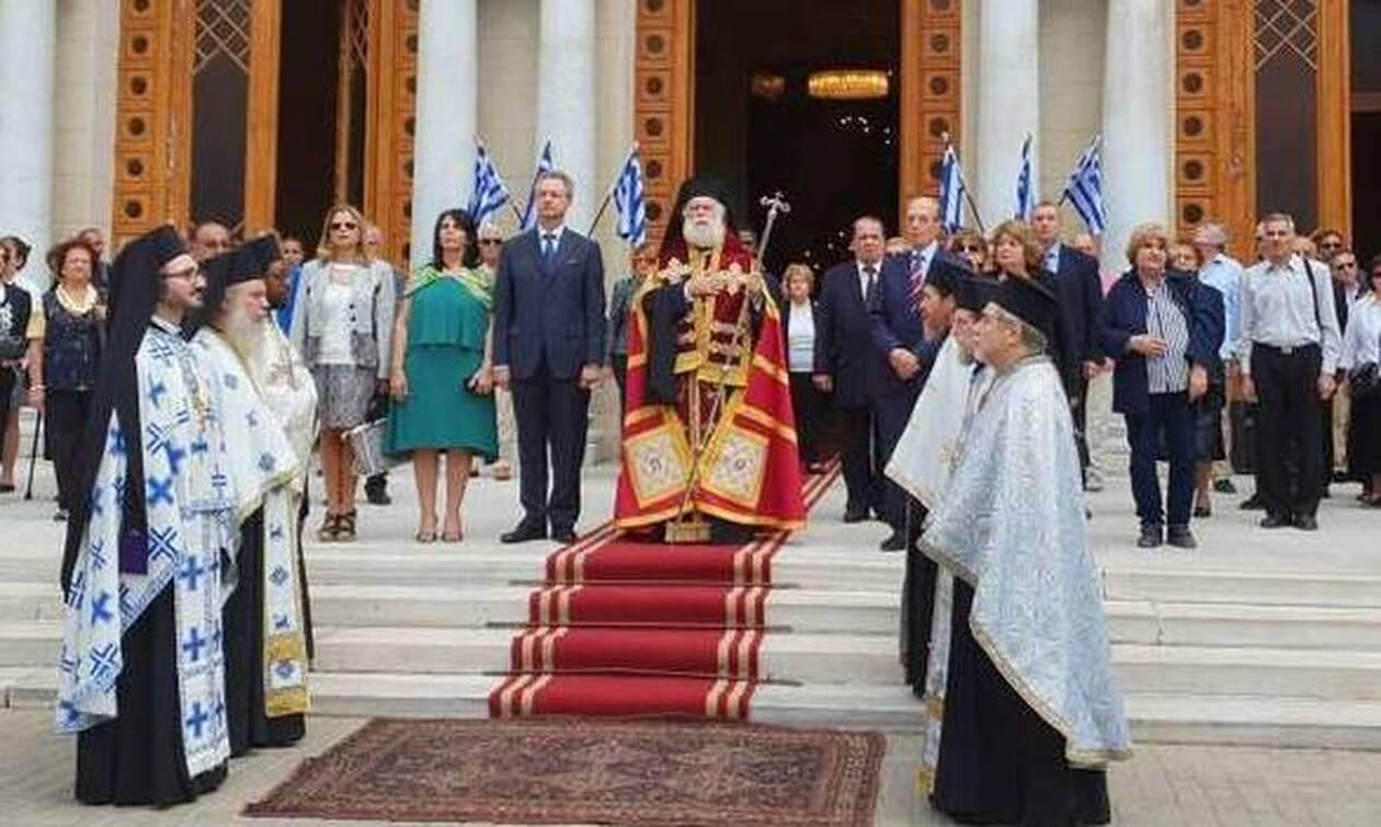 Στην Κύπρο ο Πατριάρχης Αλεξανδρείας