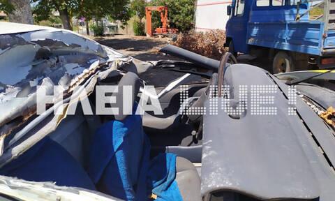 Ηλεία: Έκλεψε αυτοκίνητο, το διέλυσε και κατέληξε στην εντατική