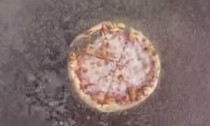 Αν λατρεύετε την πίτσα τότε ΜΗΝ δείτε αυτό το βίντεο (vid)