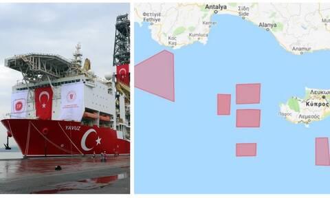 Δραματικές εξελίξεις: Τουρκική «τανάλια» από Καστελλόριζο μέχρι Κύπρο