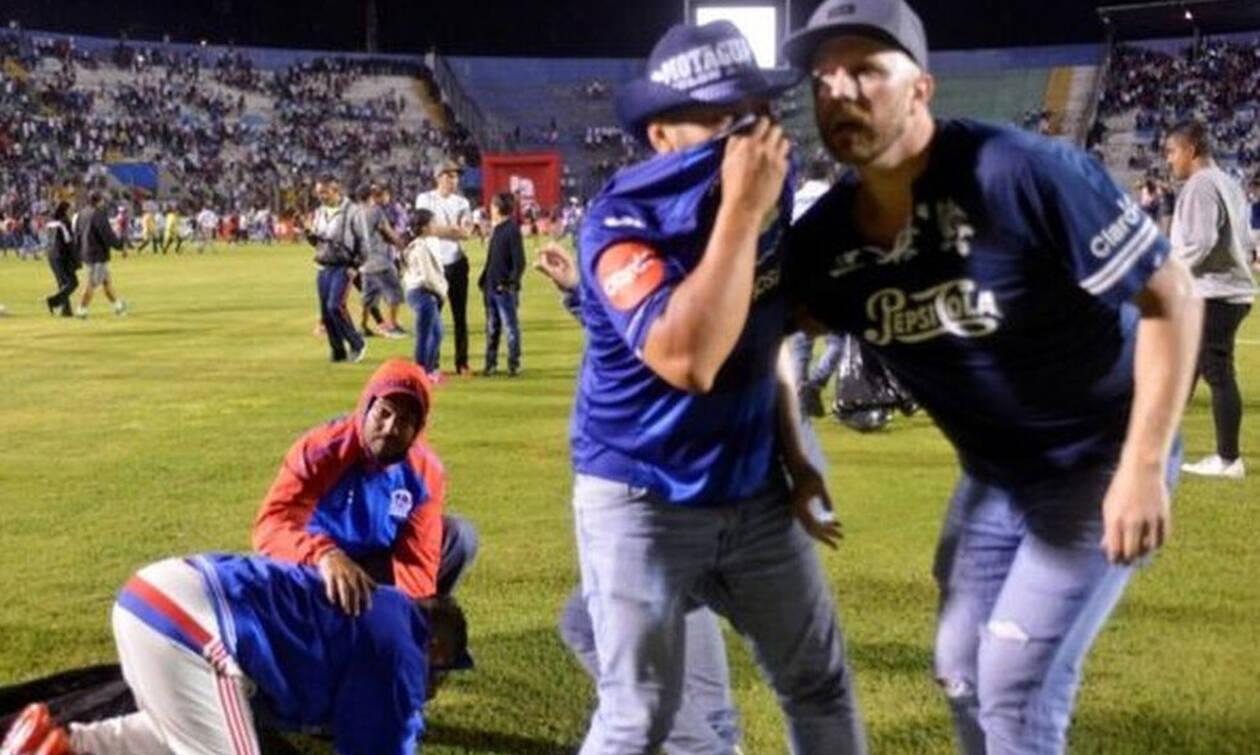 Τρομακτικές σκηνές με τραυματίες και νεκρούς στην Ονδούρα (photos+videos)
