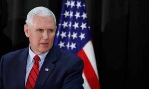 Ο Μάικ Πενς θα είναι ο υποψήφιος αντιπρόεδρος των Ρεπουμπλικάνων το 2020