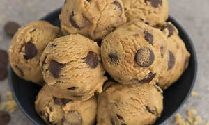Ωμά μπισκότα με κομμάτια σοκολάτας: κι όμως είναι βρώσιμα