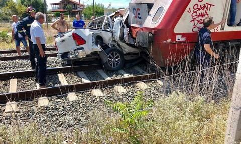 Σύγκρουση οχήματος με τρένο στα Διαβατά