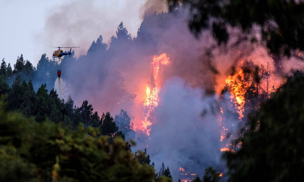 Τραγωδία χωρίς τέλος στο Γκραν Κανάρια: Καταστρέφει τα πάντα για δέκατη μέρα η φωτιά