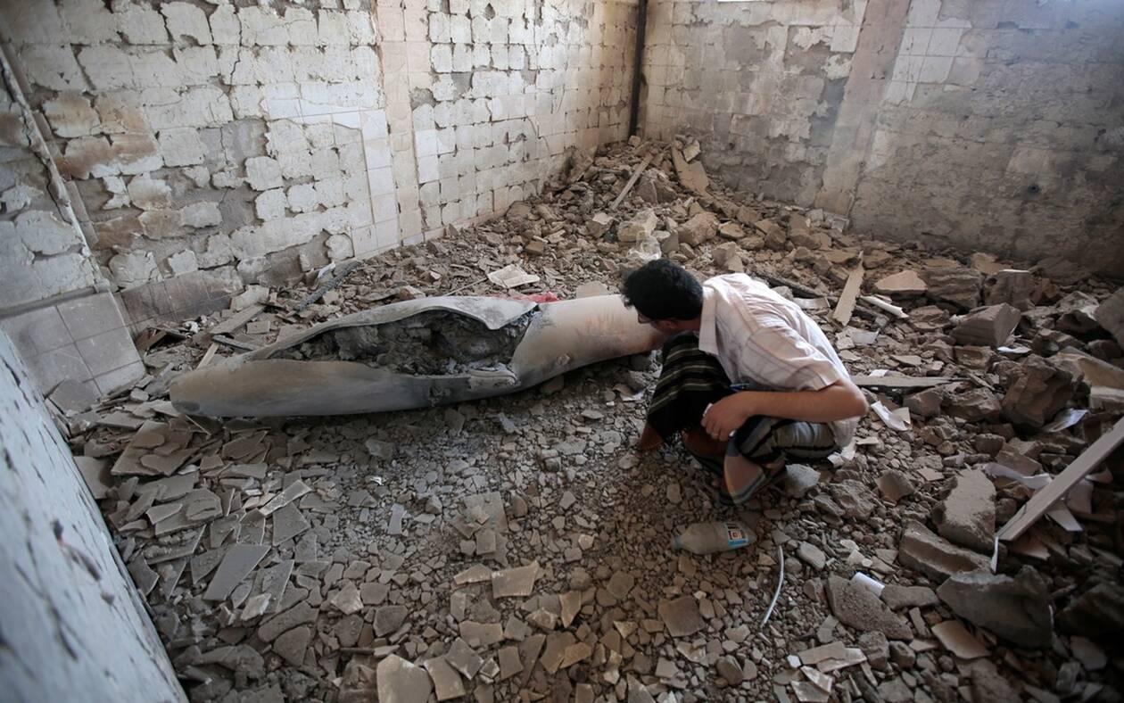 Αεροπορικοί βομβαρδισμοί της συμμαχίας υπό την ηγεσία της Σαουδικής Αραβίας στην Υεμένη