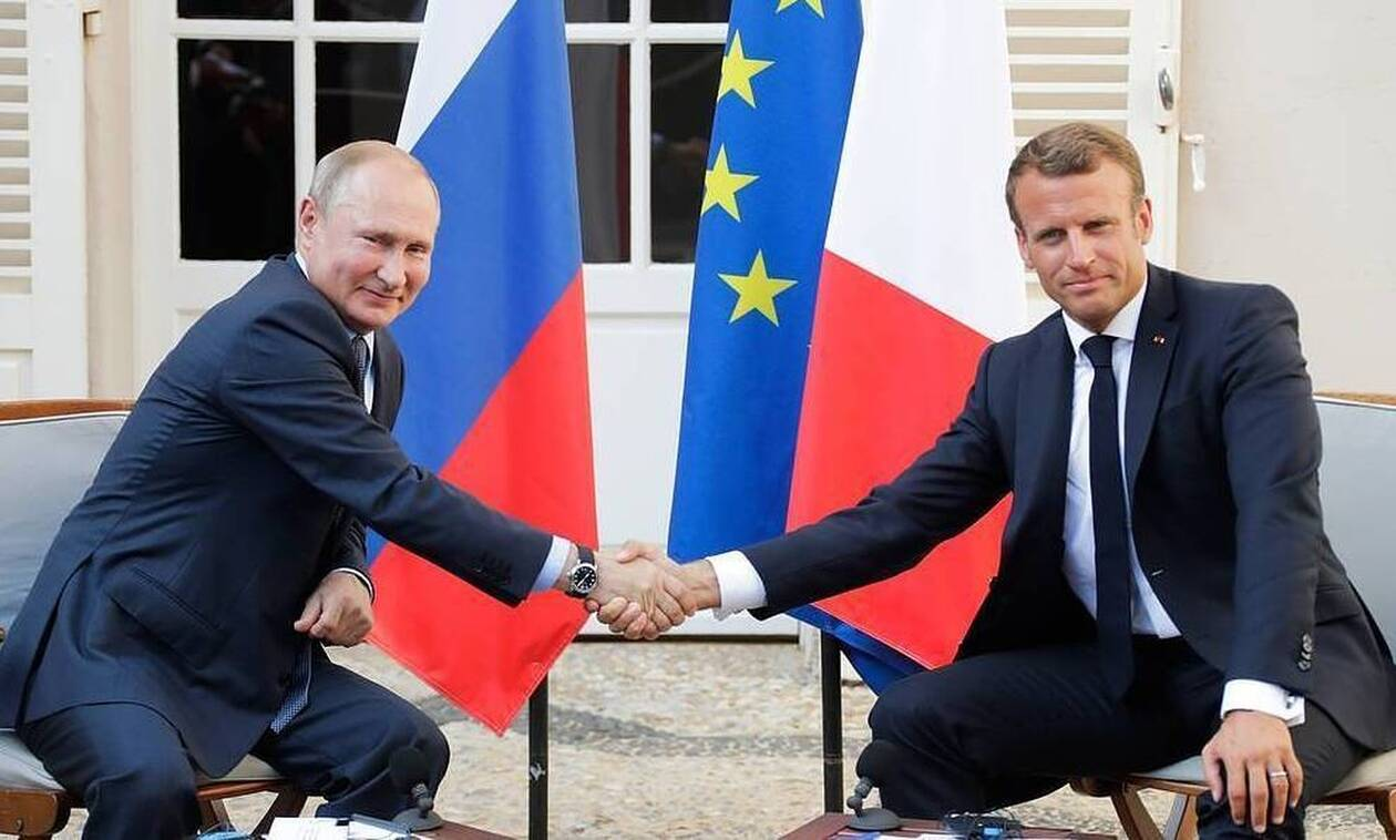 Макрон уверен в европейском будущем России по итогам встречи с Путиным